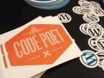 WordPress & CodePoet stickers