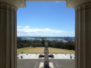 View from Auckland Museum