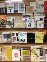 Local zines at Auckland Library
