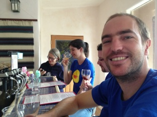 Tasting at Don Quixote Distillery & Winery