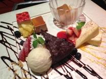 Dessert plate in Kobe