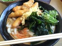 Udon noodle in Fukuoka