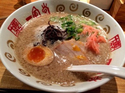 The original Ippudo ramen