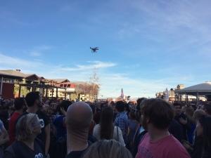 Drone over Automatticians