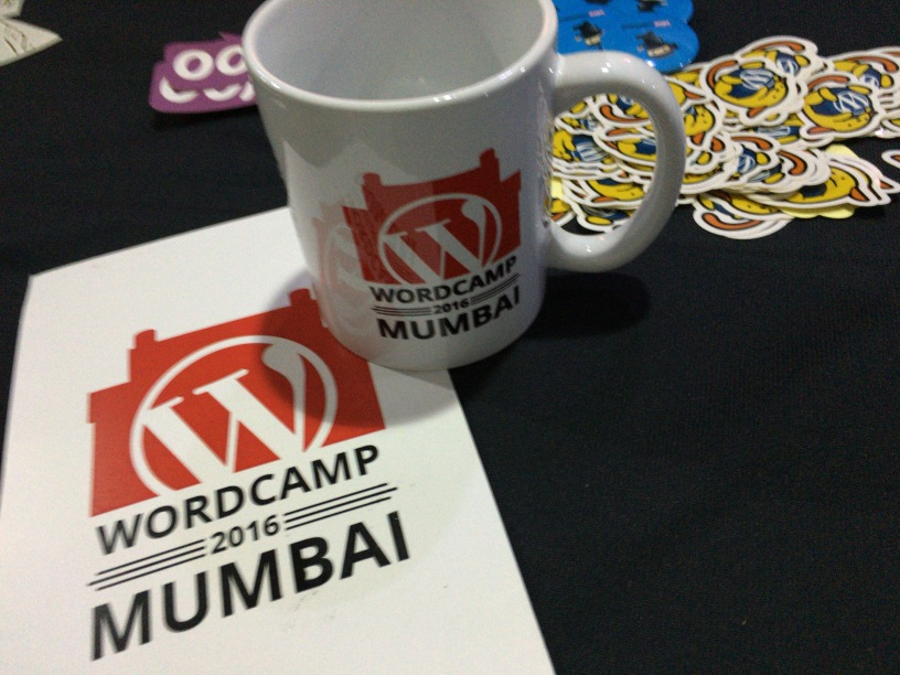 WordCamp Mumbai 2016 Swag