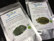 "Gyokuro and sencha ""from Spain"""