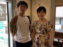 Okamoto Hideaki and Naoko Takano